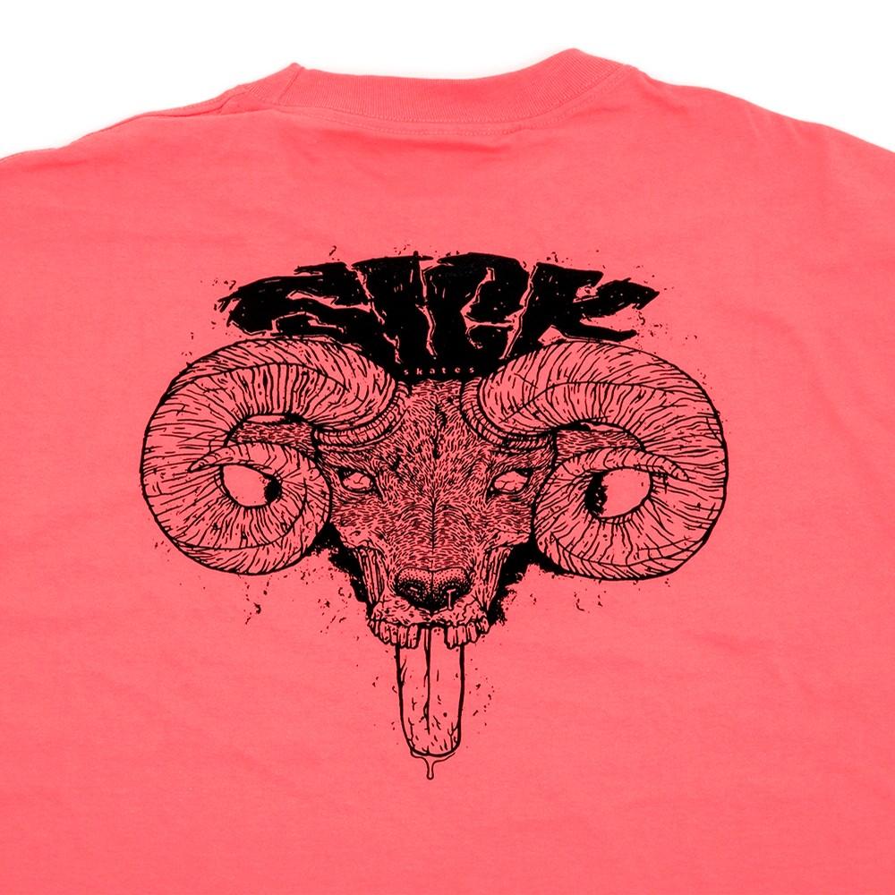 Goat T-Shirt (Coral)