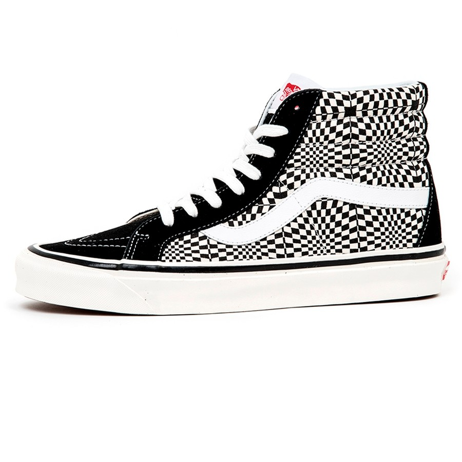 Sk8-Hi 38 Dx (Anaheim Factory) Og Black / Warp Check VBU