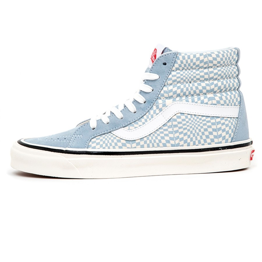SK8-Hi 38 DX (Anaheim Factory) Og Light Blue / Warp Check VBU