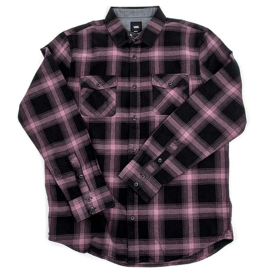 Monterey III Flannel Shirt (Black/Black) VBU