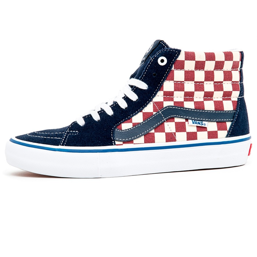 Sk8-Hi Pro (Checker) Dress Blues VBU