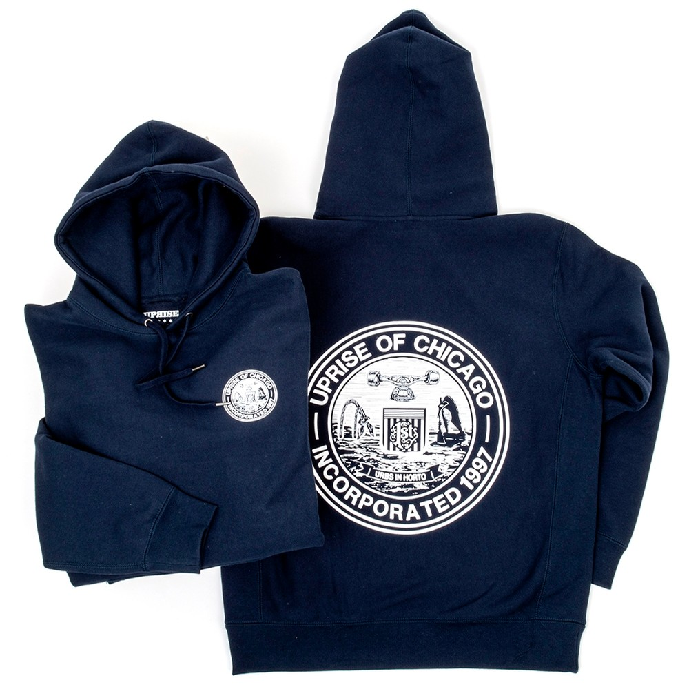 Incorporated Seal Hooded Sweatshirt (Navy)