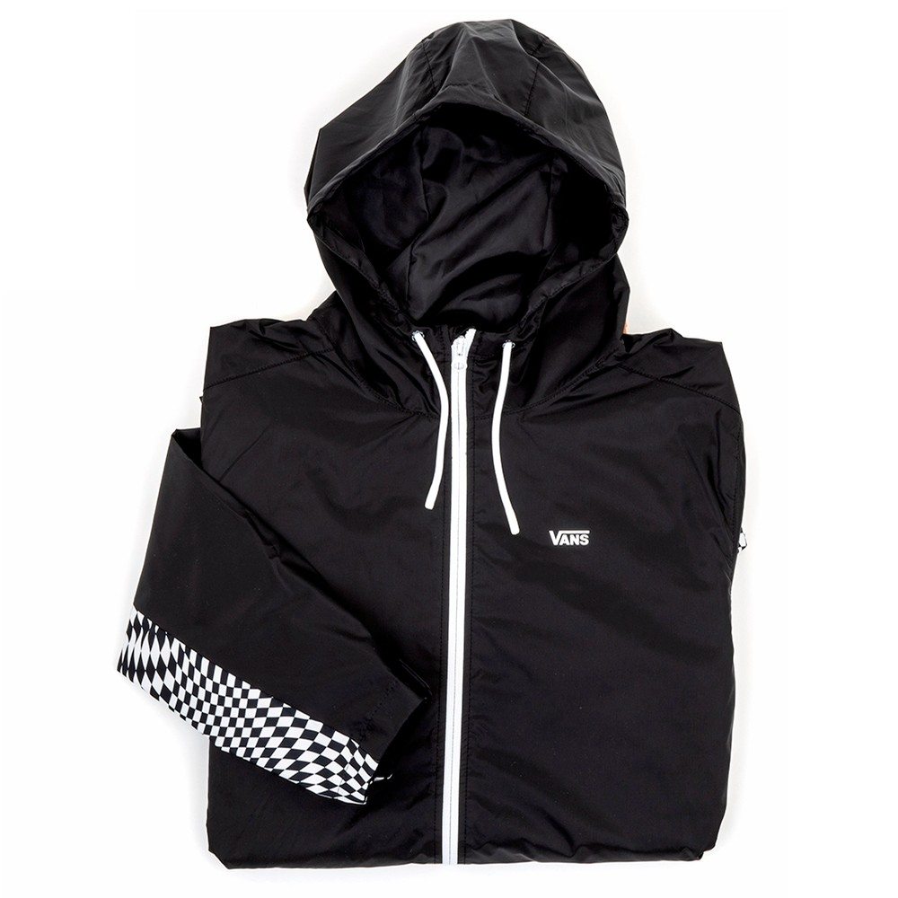 Warp Checker Windbreaker Jacket (Black) VBU
