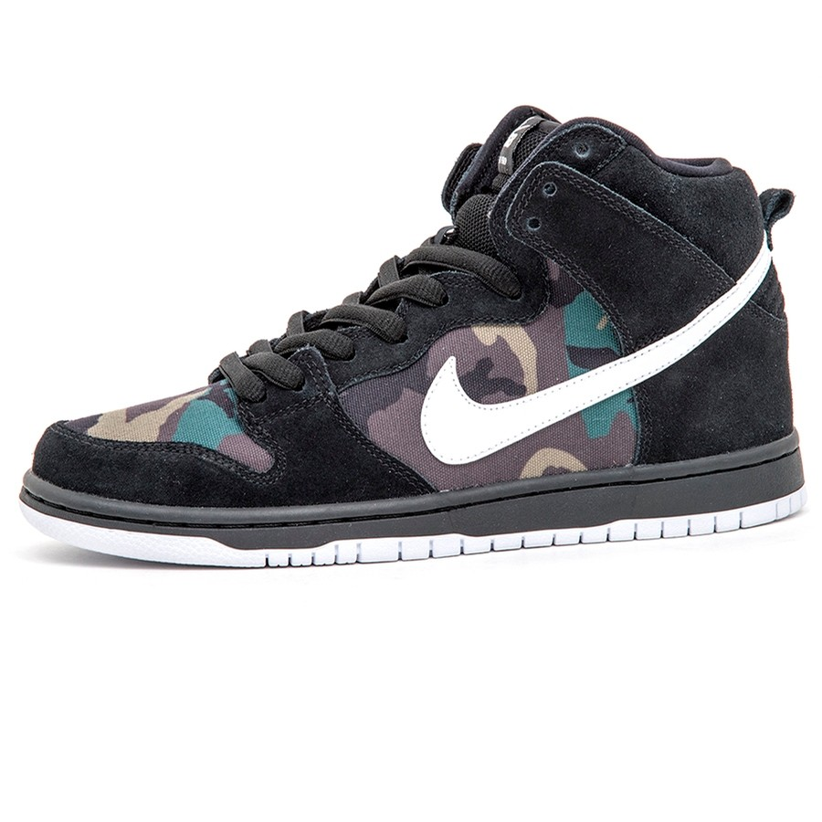 Dunk High Pro (Black / White-Iguana)