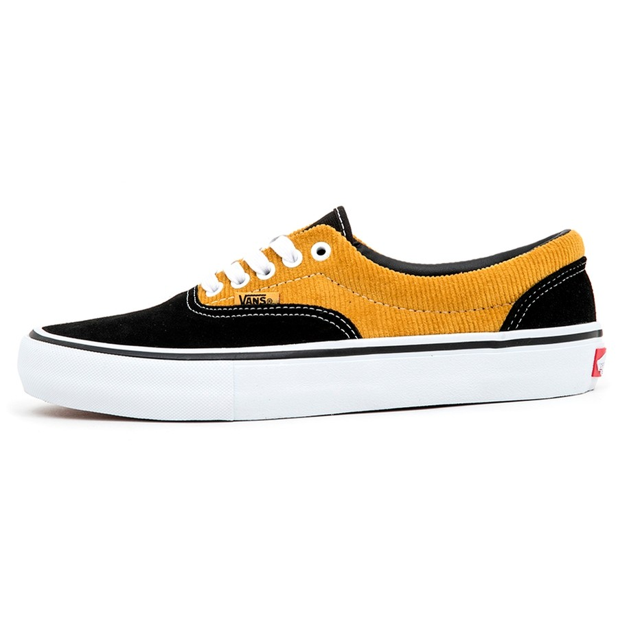 Era Pro (Corduroy) Black / Yolk Yellow