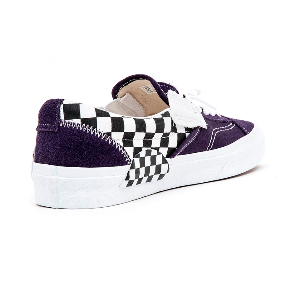 Vans Slip-On CAP (Checkerboard) Mysterioso VBU Men s Shoes at Uprise 818a3ddfd