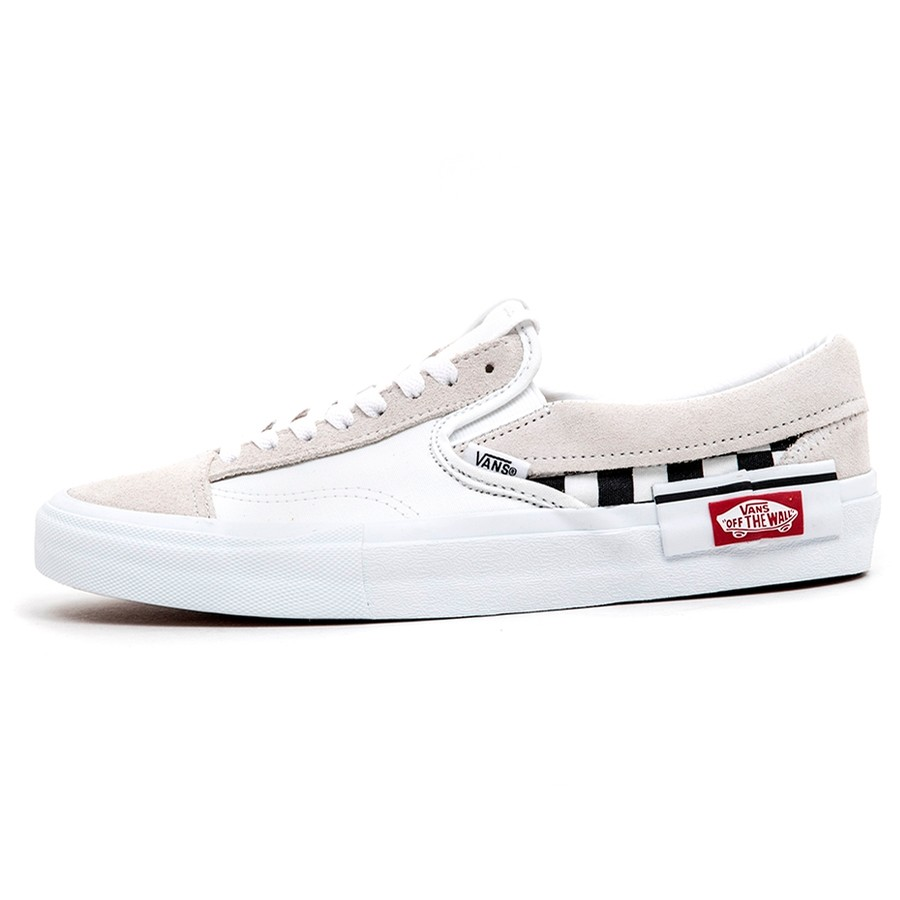 Slip-On CAP (Checkerboard) True White / Black VBU