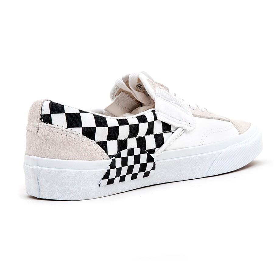 Slip-On CAP (Checkerboard) True White / Black VBU