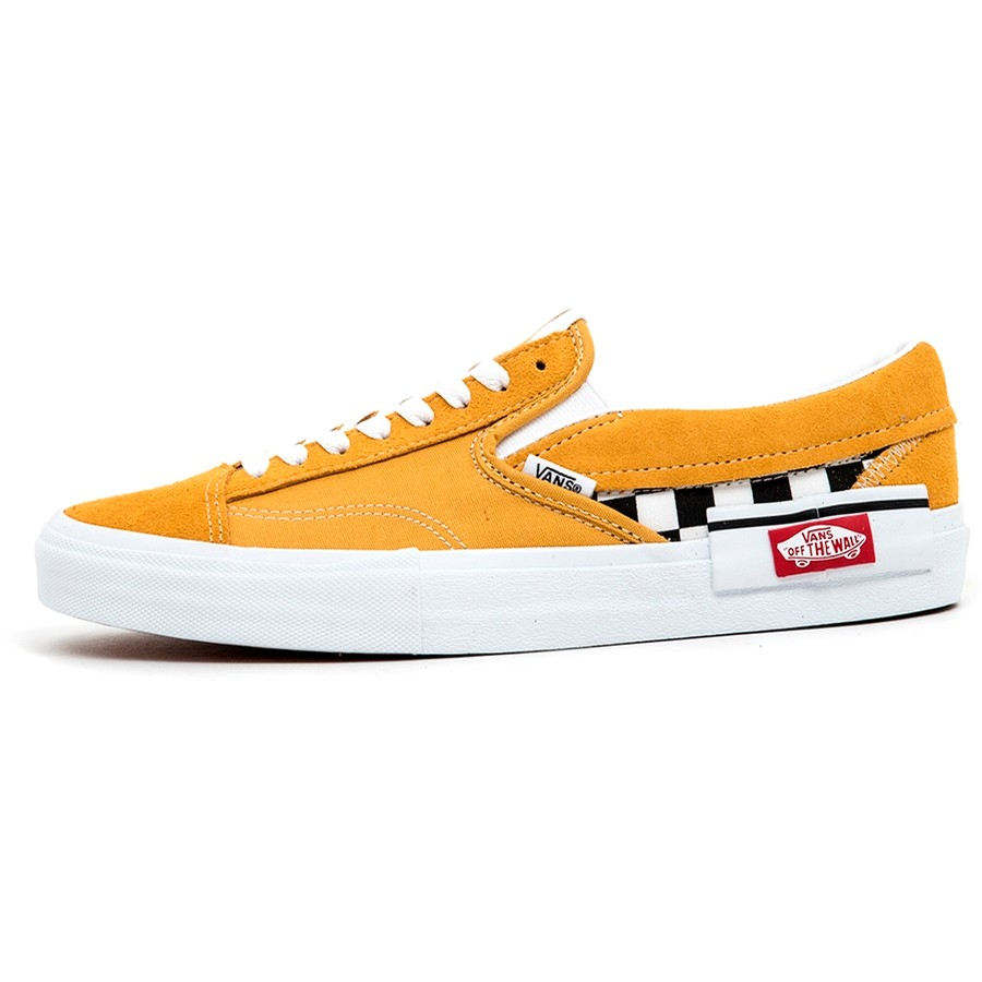 Slip-On CAP (Checkerboard) Yolk Yellow VBU