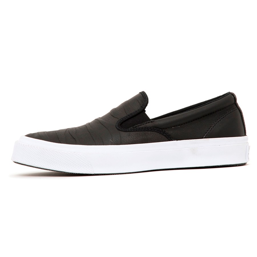 Deckstar SP Slip-On (Black / Black / White) Jason Jessee (S)
