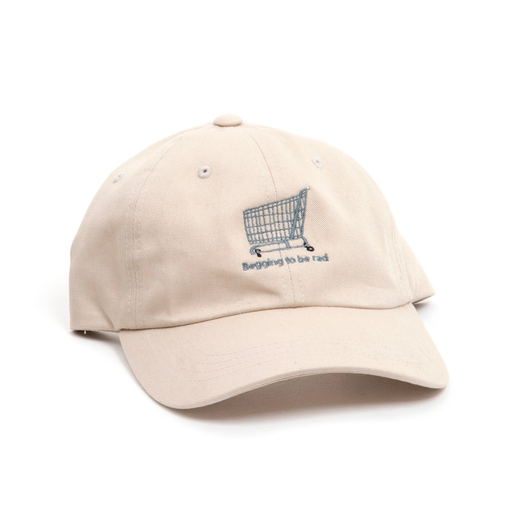 Shopping Cart Hat (Khaki)