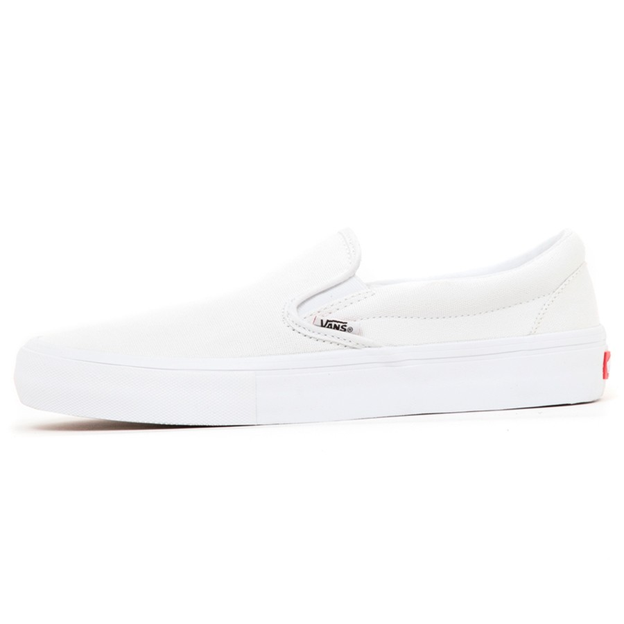 Slip-On Pro (White / White)