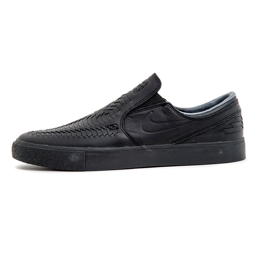 Zoom Janoski Slip RM Crafted (Black / Black)