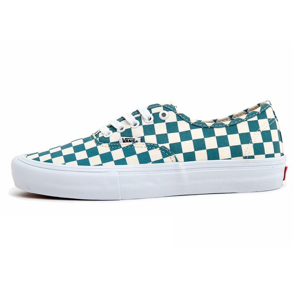 Authentic Pro (Checkerboard) Smoke Blue VBU