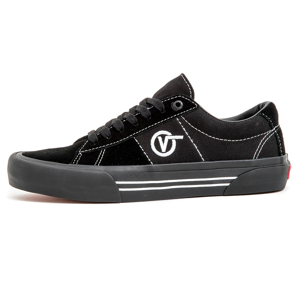 Vans Saddle Sid Pro (Black / Black / White) VBU