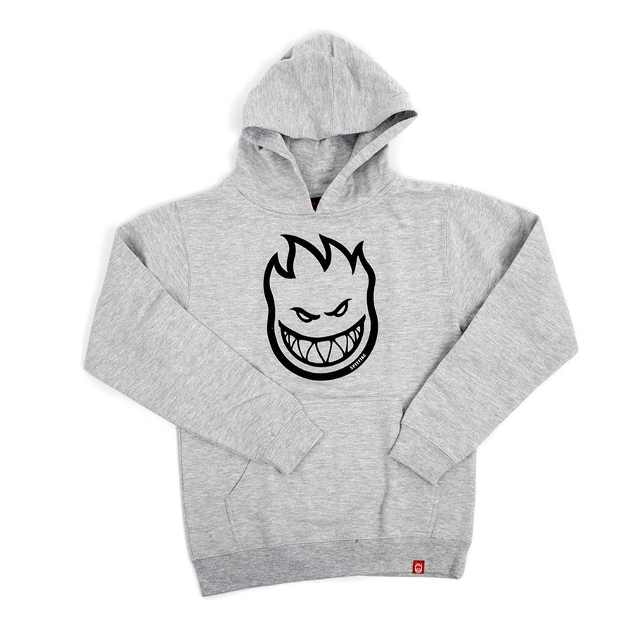 Youth Bighead Sweatshirt (Heather Grey)