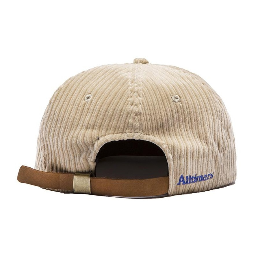 Action Cord Hat (Tan / Blue)