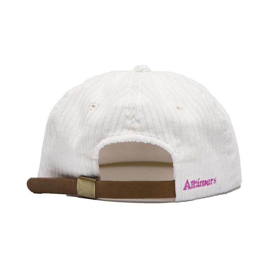 Action Cord Hat (White / Pink)