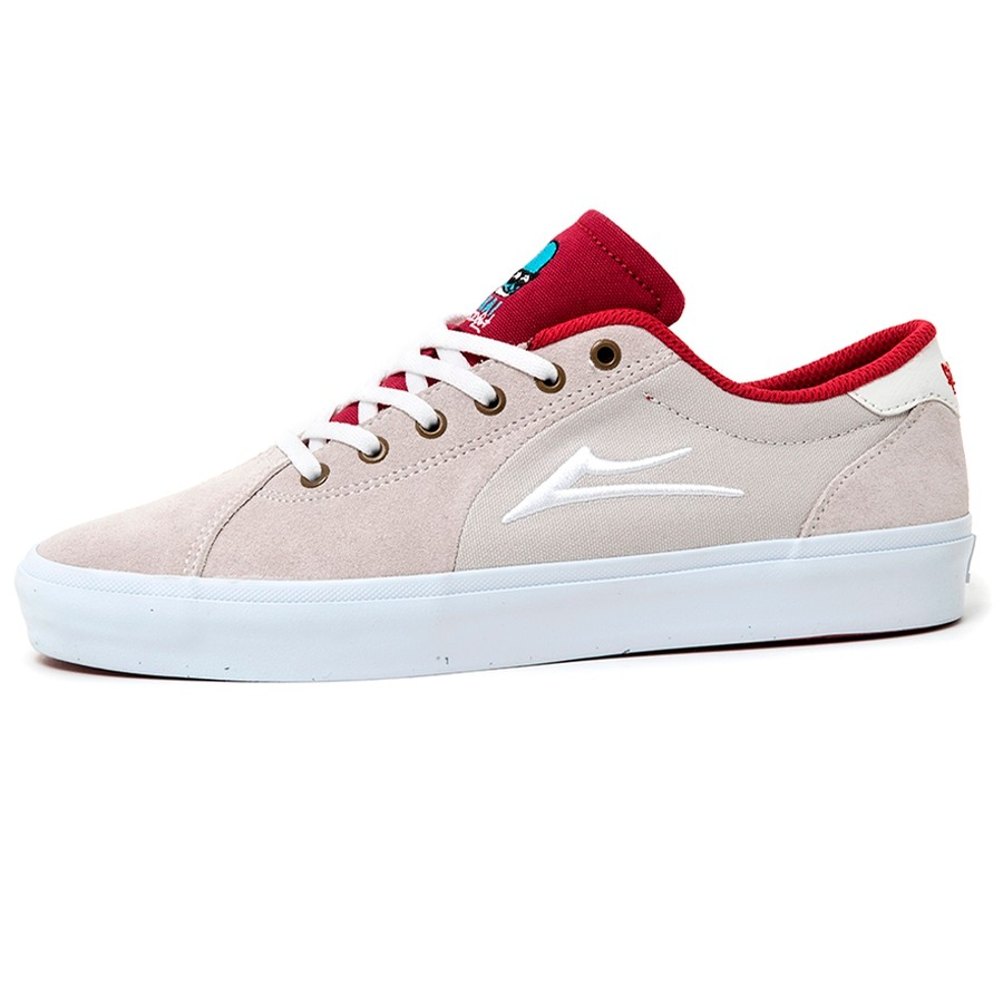 Flaco II (White / Red)
