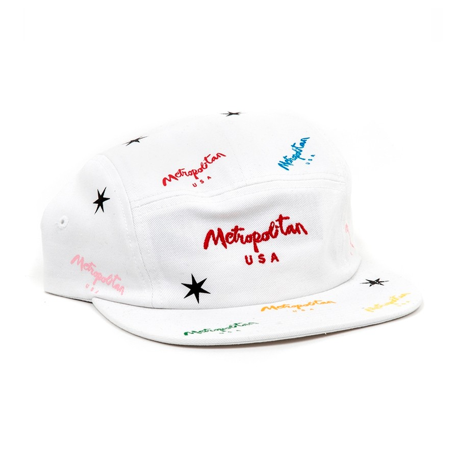 Electric Volley Strapback (White)
