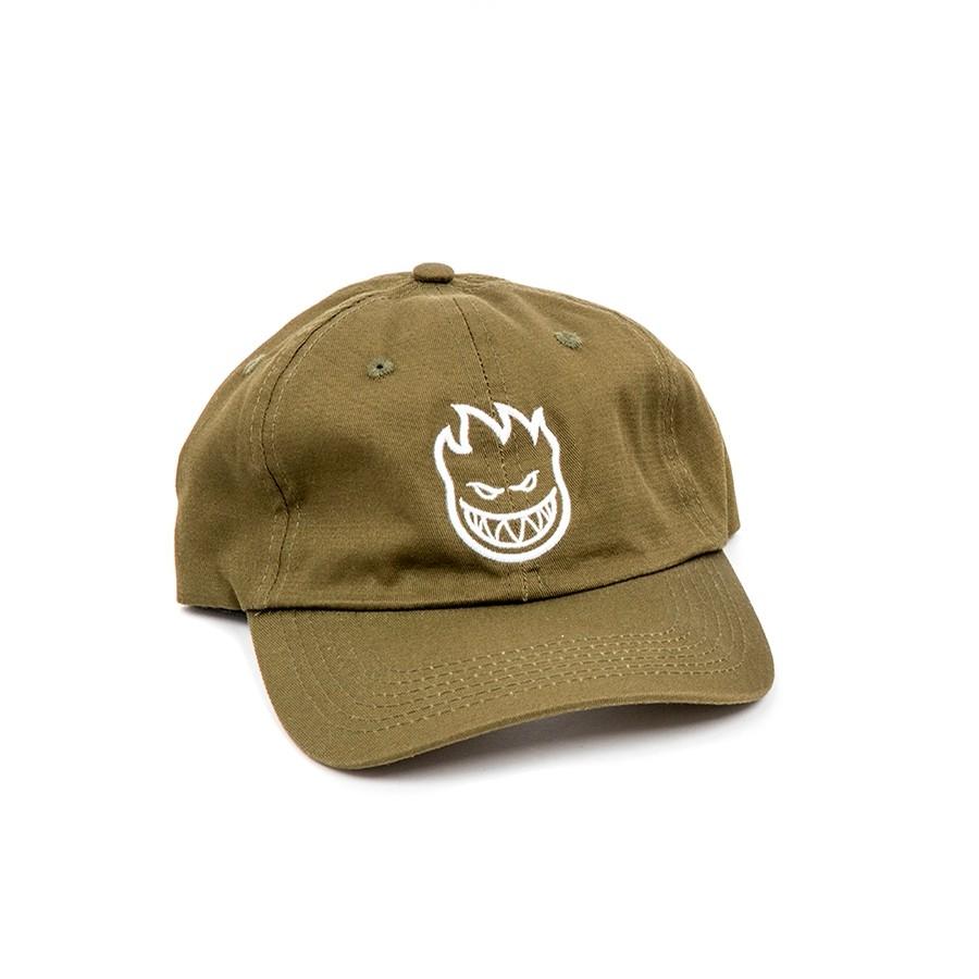 Bighead Strapback Hat (Olive/White)