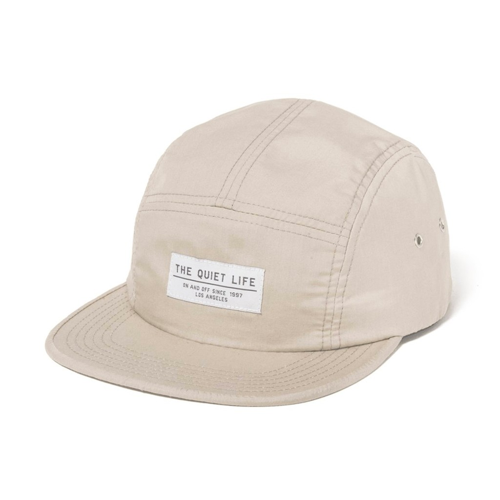 Foundation 5 Panel Camper Adjustable Hat (Oyster)