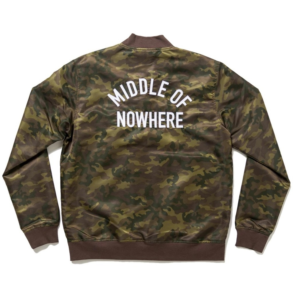 Middle of Nowhere Jacket (Army Camo)
