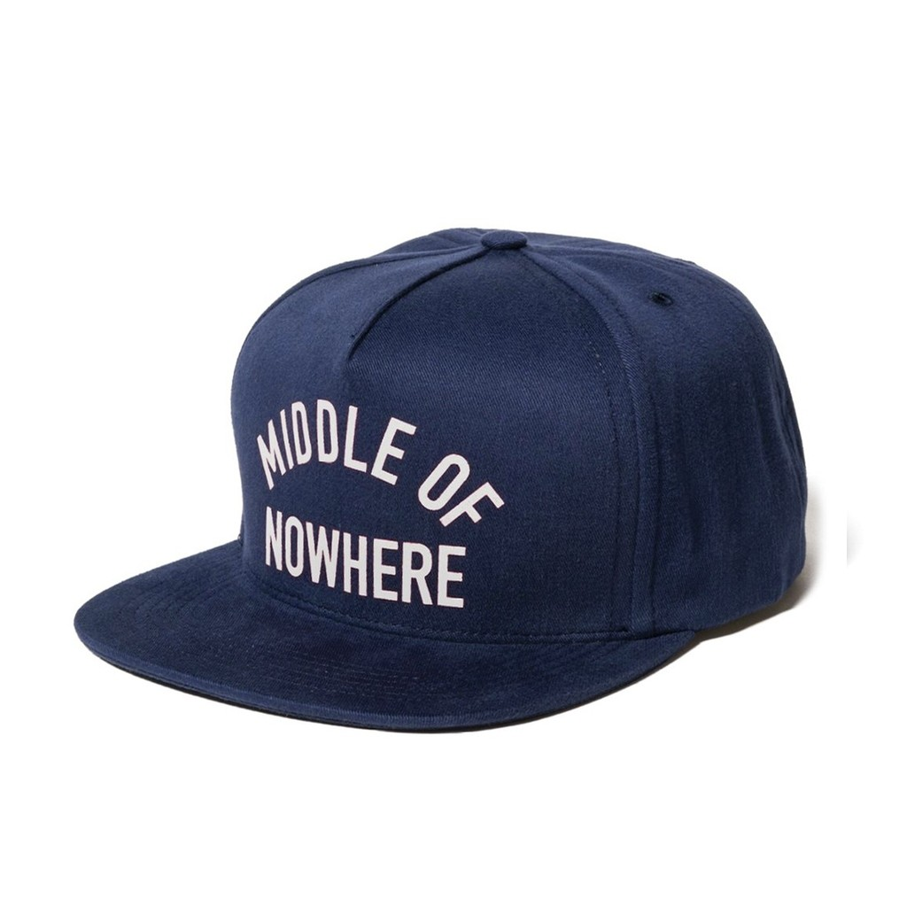 Middle Of Nowhere Snapback Hat (Navy)