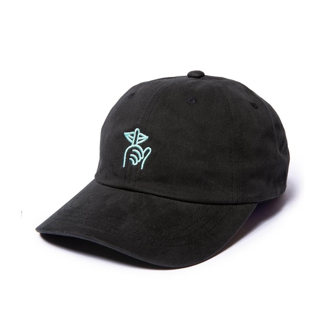Shhh Dad Strapback Hat (Black)