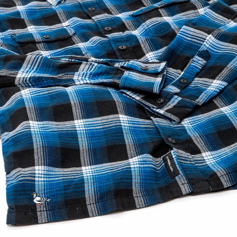 x Anti Hero Wired Flannel Shirt (True Blue / Black) VBU