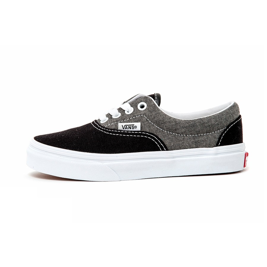 Kids Era (Chambray) Canvas Black / True White VBU