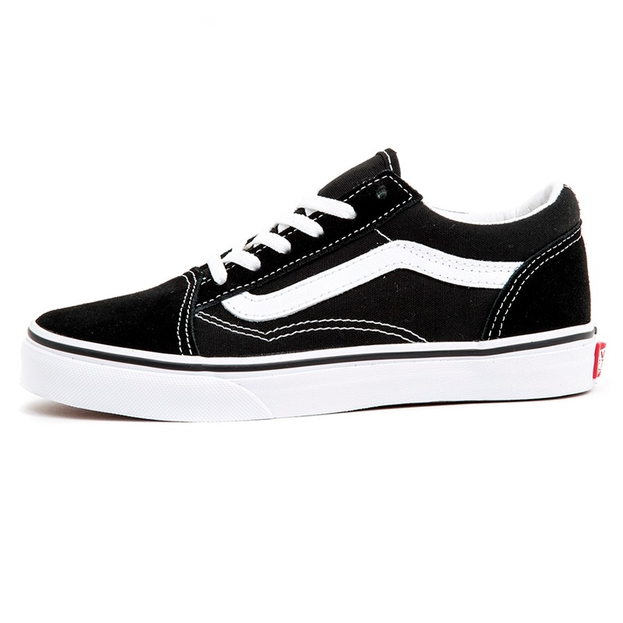 Kids Old Skool (Black / True White) VBU