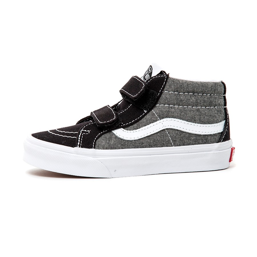 Youth Sk8-Mid Reissue V (Chambray) Canvas Black VBU