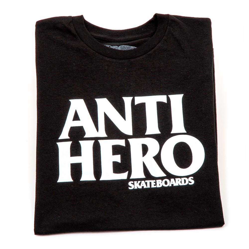 Anti-Hero Blackhero T-Shirt (Black/White)