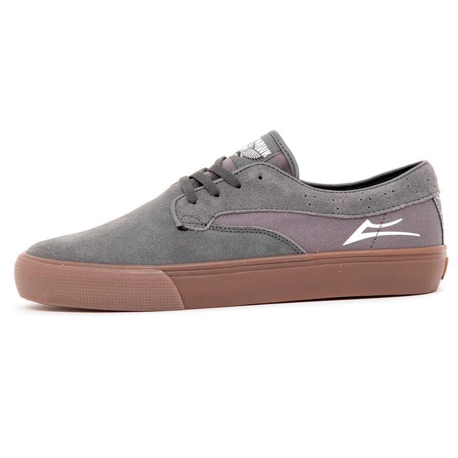 Riley Hawk (Grey/GumSuede) (S)