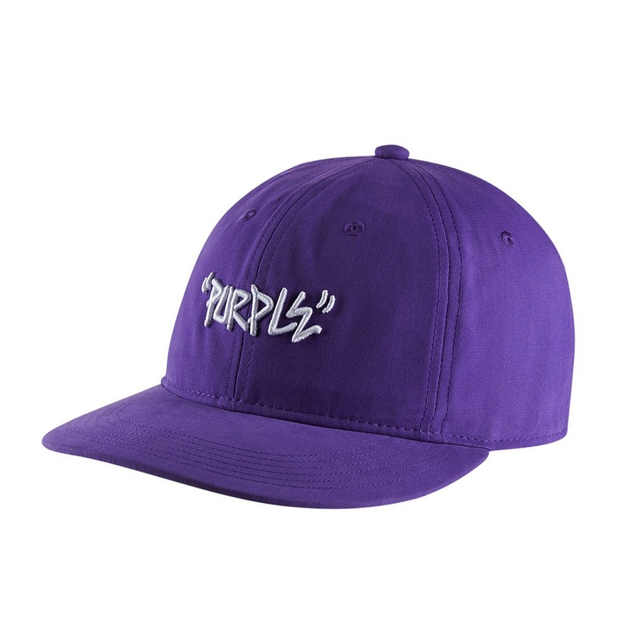 Converse Purple Strapback Hat (Electric Purple)