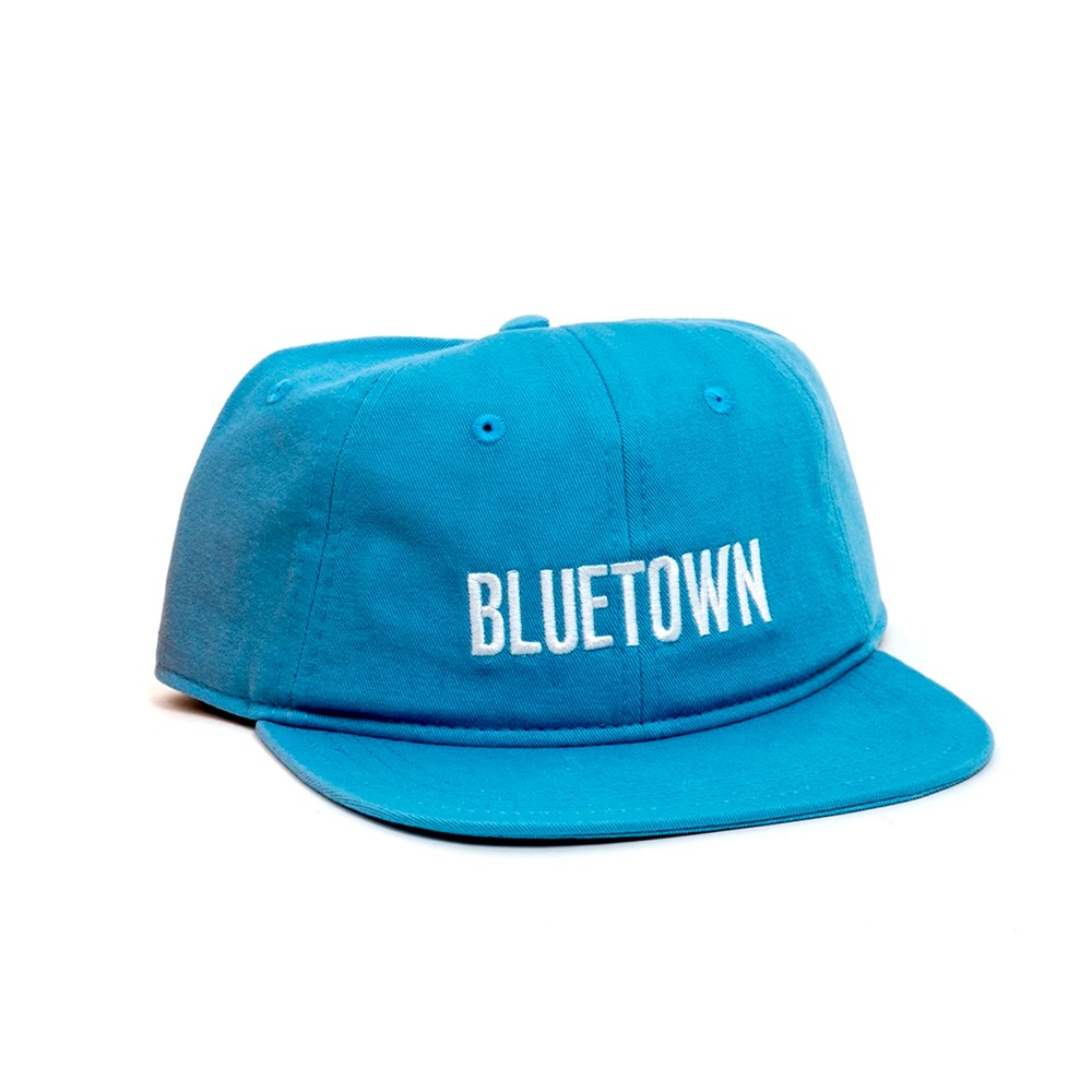Double Exposure Strapback (Light Blue)
