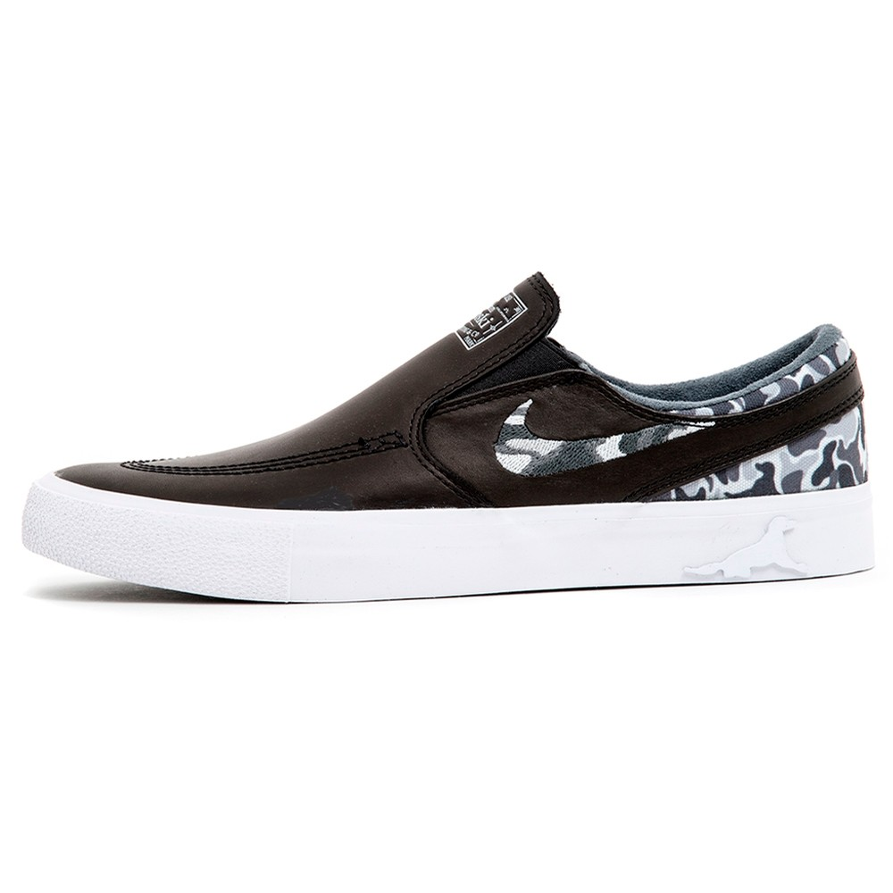Zoom Janoski RM QS (Matriz) Black / Multi-Color-White