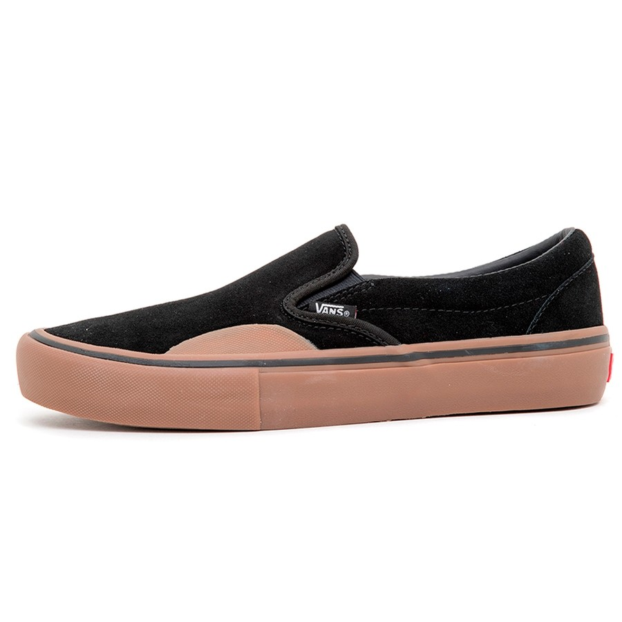 Slip-On Pro (Rubber) Black / Gum VBU