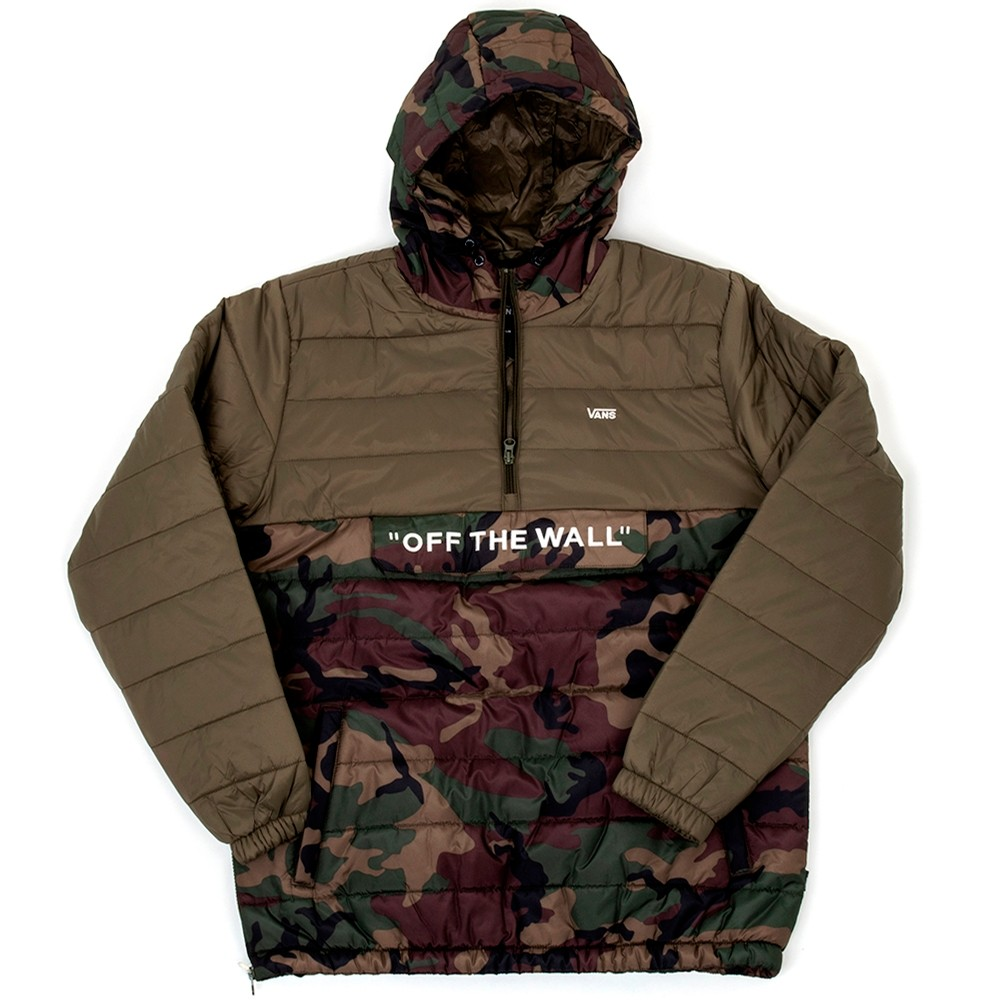 Carlon Anorak Packable Puffer Jacket (Camo / Grape Leaf) VBU
