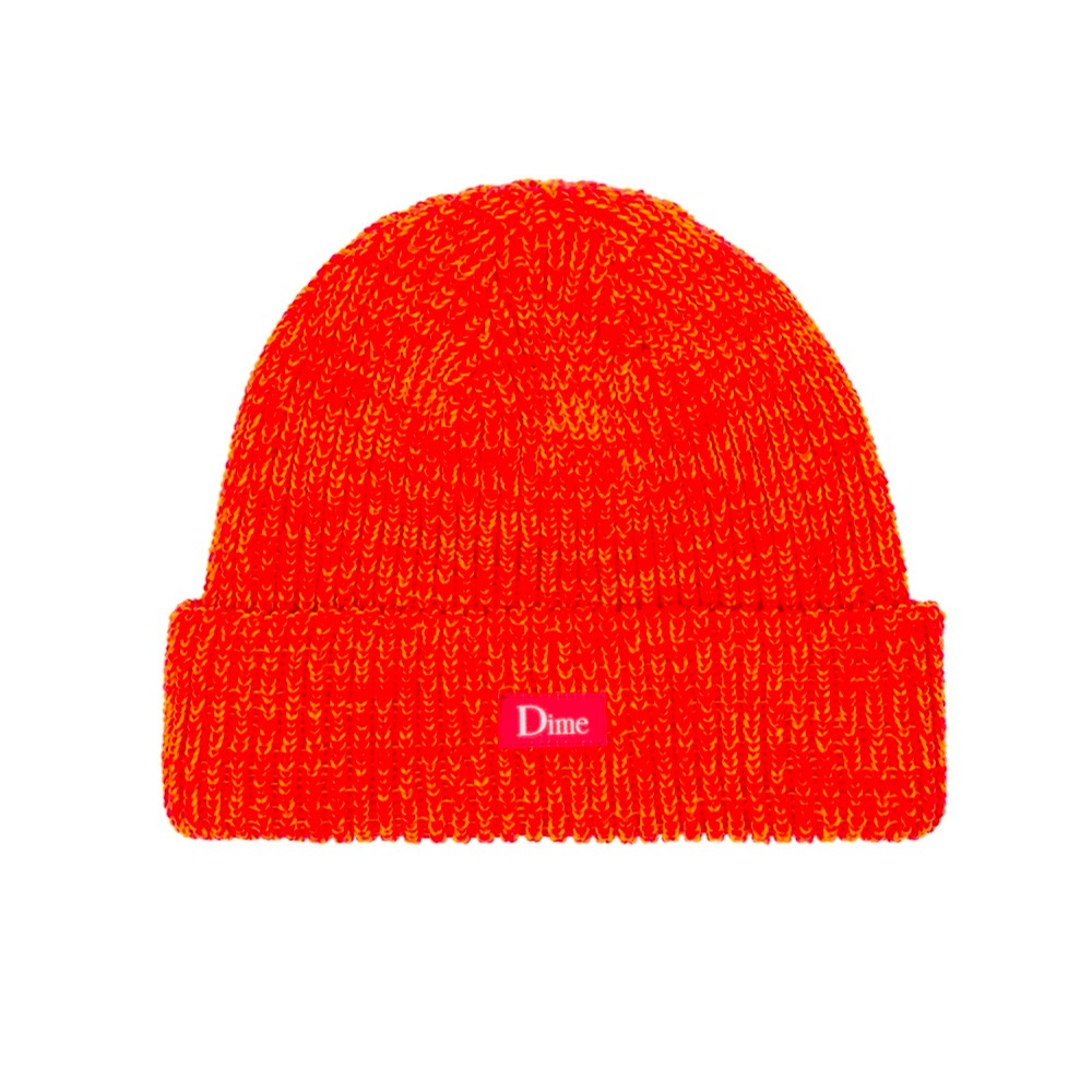Dime Marled Beanie (Orange)