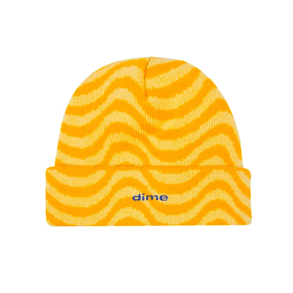 Wave Beanie (Yellow)