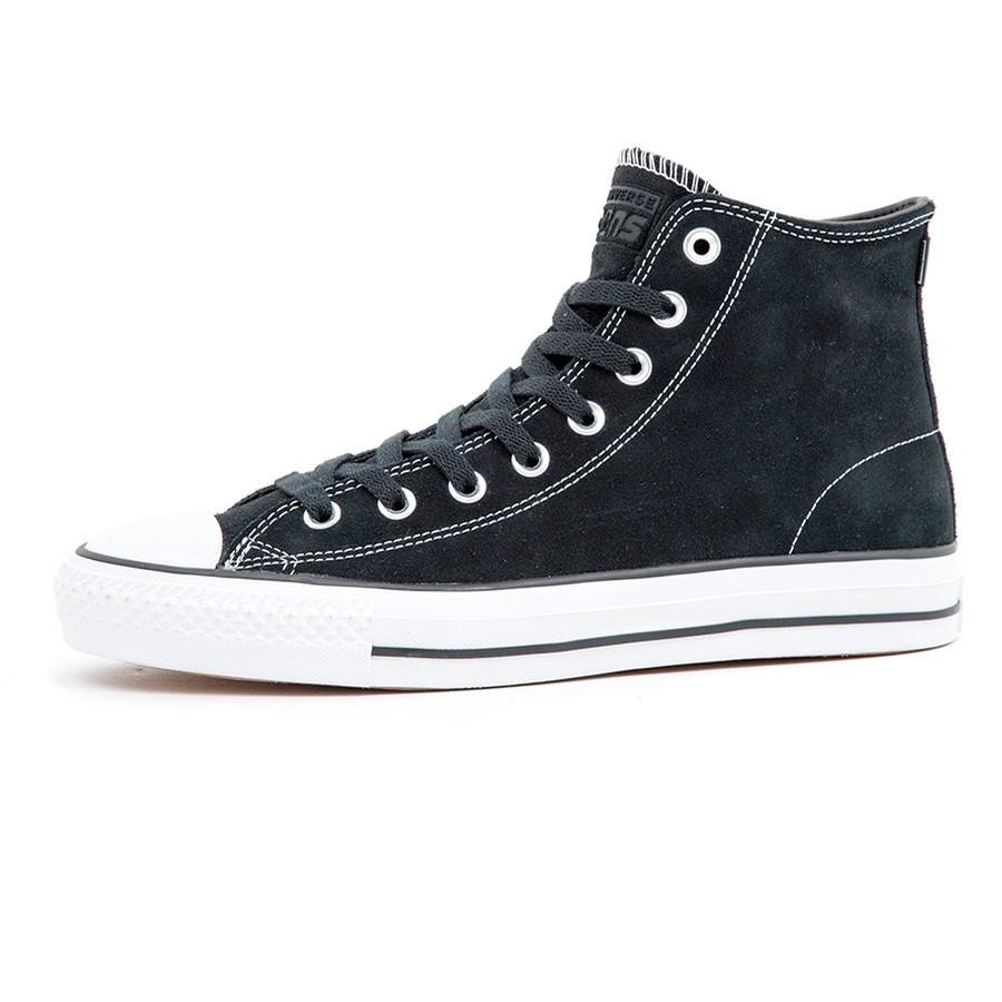 Converse CTAS Pro Hi (Black / Black / White)