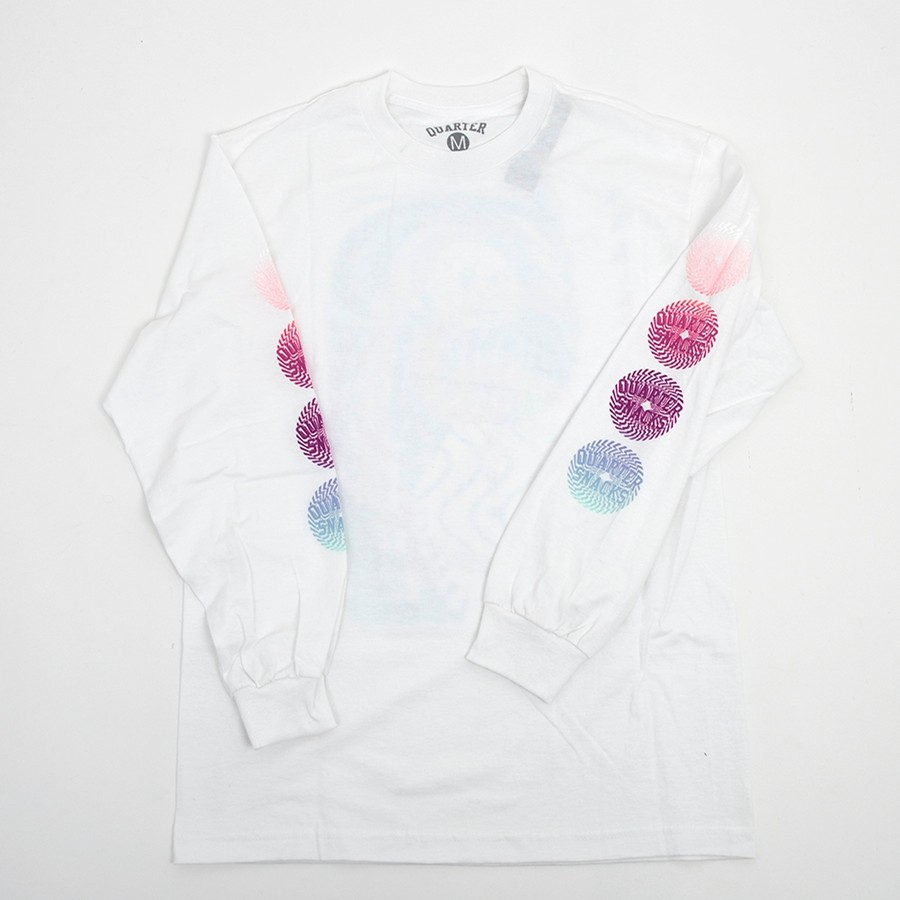 Trippy Longsleeve Shirt (White)
