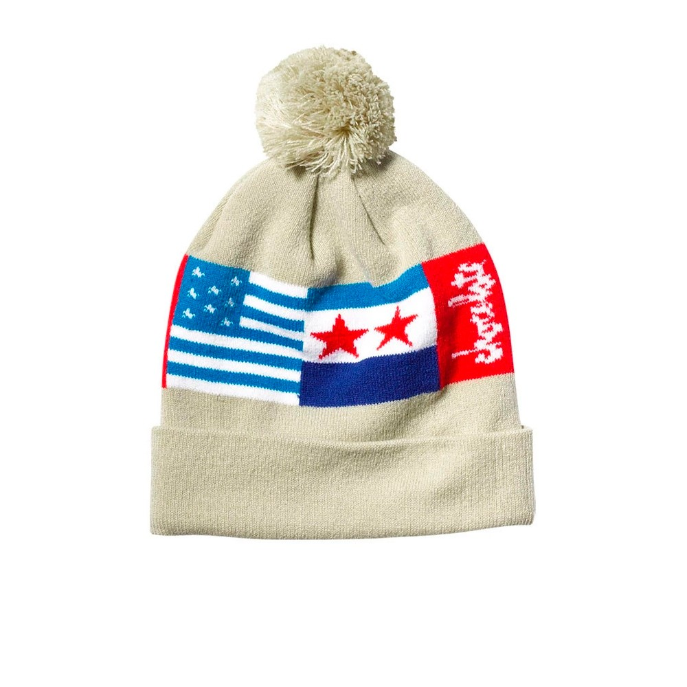 Classic Flags Beanie (Natural)