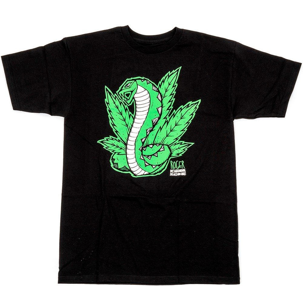 Weed and Cobras T-shirt (Black)