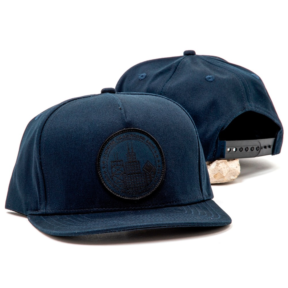 City Seal Snapback (Navy / Navy-out)