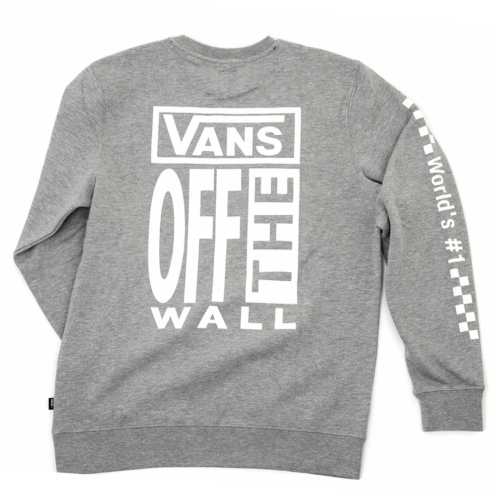 AVE Crewneck Sweatshirt (Cement Heather) VBU