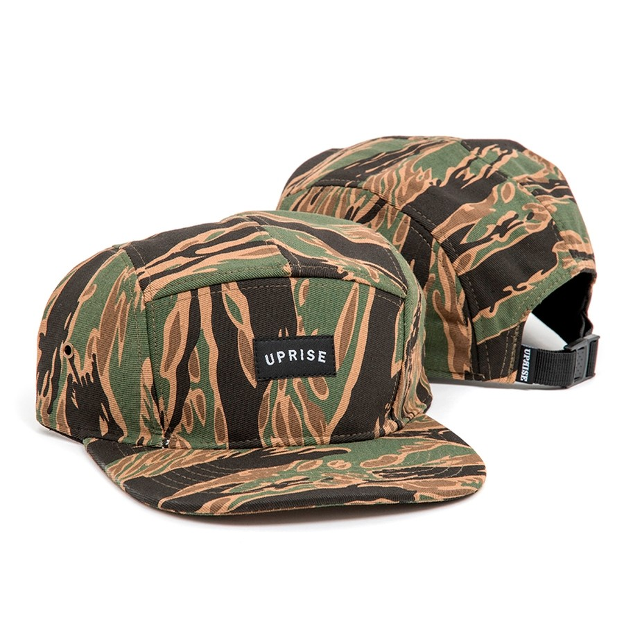 Franklin Arch 5-Panel Hat (Jungle Tiger Camo)