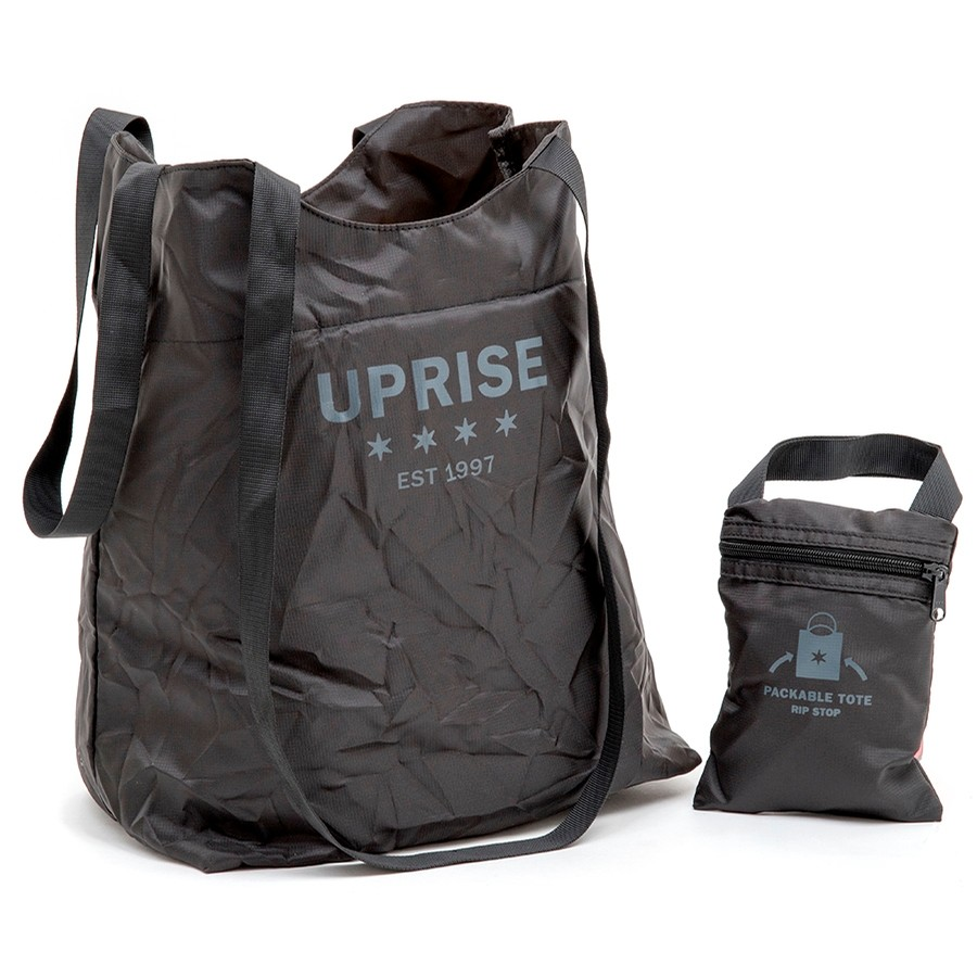 Packable Rip Stop Bag (Black)